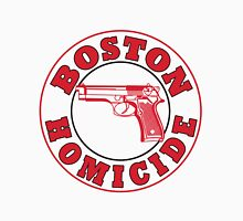 Rizzles Boston Homicide Logo Men's Baseball ¾ T-Shirt
