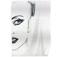 lady gaga - minimal Poster