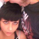 is he biting my head?...yeah hes biting my head by Jessica Ferris