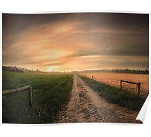 Australian Farmland Poster