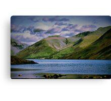 wasdale mountains Canvas Print