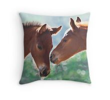 Baby Whispers Throw Pillow