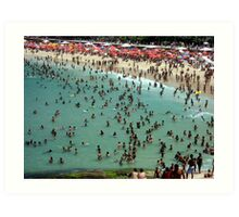 Ipanema Beach Art Print