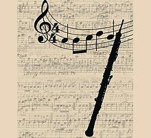 Oboe - iPhone Cases by sophiaz