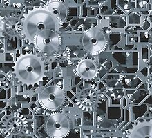 Silver Cogs by Buckwhite