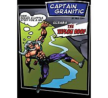Capt Granitic Comic Panel 02 Photographic Print