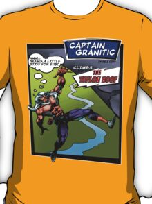 Capt Granitic Comic Panel 02 T-Shirt