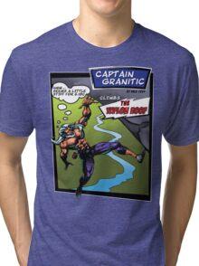 Capt Granitic Comic Panel 02 Tri-blend T-Shirt