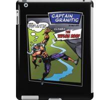 Capt Granitic Comic Panel 02 iPad Case/Skin