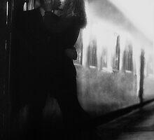 Train Kiss by Chris Fawkes