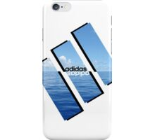 adidas mirror water  iPhone Case/Skin