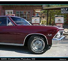 Chevelle 1966 Front Corner Photographic Print