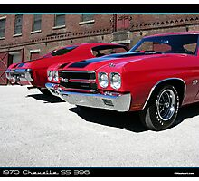 Chevelle 1970 Pair Photographic Print