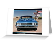 Chevelle 1967 Front Greeting Card