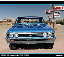 Chevelle 1967 Front Photographic Print