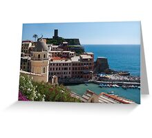 Postard from Vernazza Greeting Card