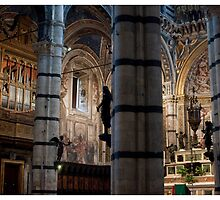 Postcard from Siena by Paul Weston