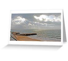 Sto. Amaro beach Greeting Card