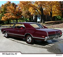 1966 Oldsmobile Cutlass 442 Photographic Print