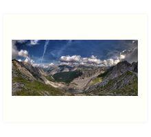 Im Karwendel Art Print