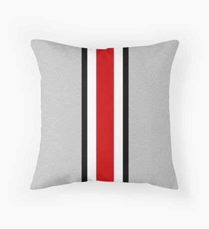 Ohio state helmet stripe Throw Pillow
