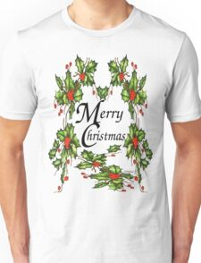 Holly, Holly, Holly (for light t's) Unisex T-Shirt