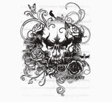 Blooming Skull by Adara Rosalie