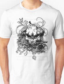 Blooming Skull Unisex T-Shirt
