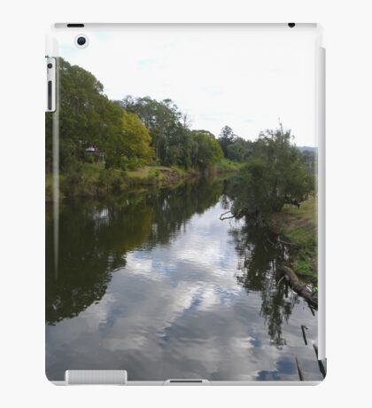 Mary River, & Reflections, Imbil, Mary Valley, Queensland. iPad Case/Skin