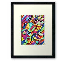 Expressions In Color Framed Print