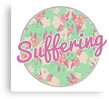 Suffering Canvas Print
