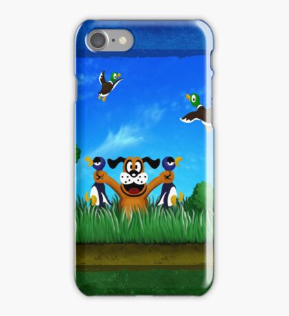Duck Hunt! iPhone Case/Skin