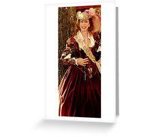 Milady Greeting Card