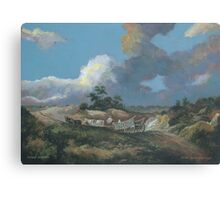 Landscape after Gainsborough Canvas Print