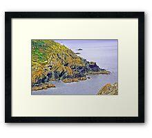 Polperro Lighthouse Framed Print