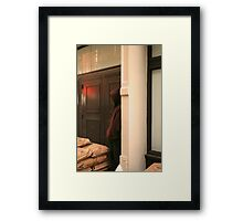 People 1141 (New York) Framed Print