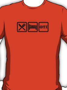 Eat / Sleep / GTI T-Shirt