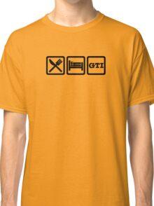 Eat / Sleep / GTI Classic T-Shirt