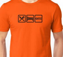 Eat / Sleep / GTI Unisex T-Shirt