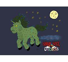 Horror Movie Unicorns: Lagoon Creature Photographic Print