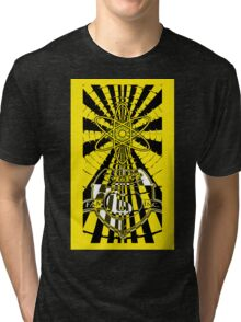 Solar For All (Yellow Variant) Tri-blend T-Shirt