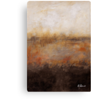 Sepia Wetlands Canvas Print