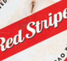 Red Stripe Jamaican Style Lager  Sticker