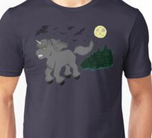 Horror Movie Unicorns: Wolfman Unisex T-Shirt