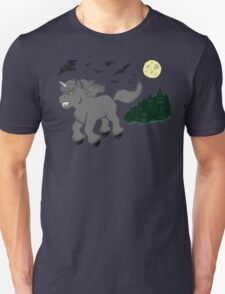 Horror Movie Unicorns: Wolfman T-Shirt