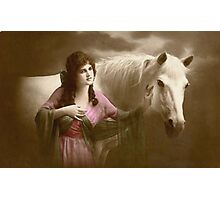 *Beauty and Her Horse* Photographic Print