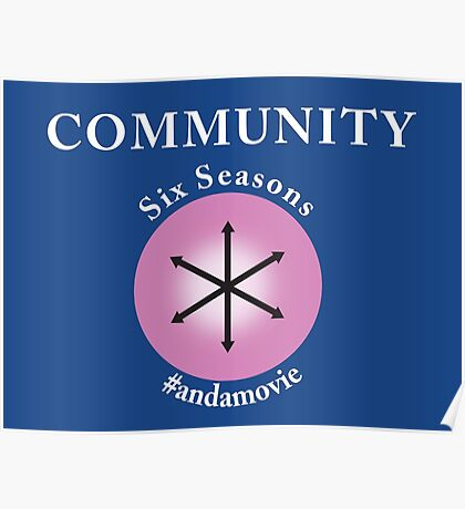 Community: Six Seasons #andamovie Poster