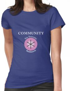 Community: Six Seasons #andamovie Womens Fitted T-Shirt
