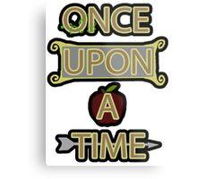 Once Upon A Time Metal Print