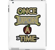 Once Upon A Time iPad Case/Skin